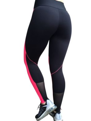 CAJUBRASIL 5233 Sexy Leggings Brazilian Fashion Pink