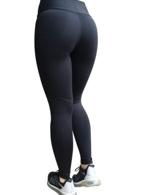 CAJUBRASIL Sexy Leggings Brazilian 5666 Lucky Black