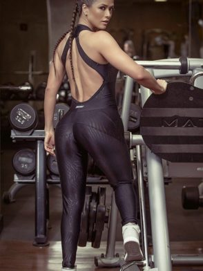 SUPERHOT Sexy Workout  Leggings Jumpsuit Romper MAC633