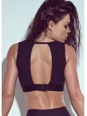 SUPERHOT Sexy Workout Tops Sports Bras Mesh TOP799