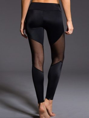 ONZIE 223 Sexy Workout Leggings Yoga Mesh Leggings