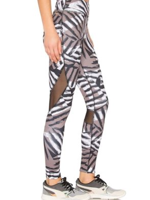 ALALA Leggings Captain Ankle Tight in Bronze Stripe Sexy Workout Tights