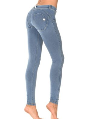 FREDDY WR.UP Shaping Effect – Low Waist – Skinny – Denim Effect Light Wash