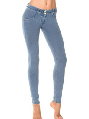 FREDDY WR.UP Shaping Effect - Low Waist - Skinny - Denim Effect Light Wash