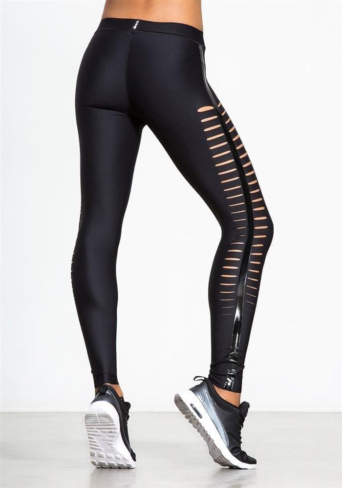 9e6f89db893b ULTRACOR Leggings Slash Black Sexy Workout Clothes Yoga Leggings ...