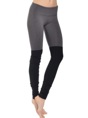ALO Yoga Goddess Legging Stormy Heather Black Sexy Yoga Leggings