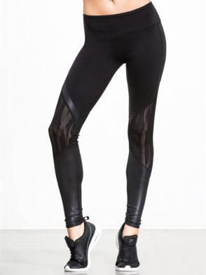 ALO Yoga Sexy Vitality Yoga Leggings Sexy Pilates Leggings Black