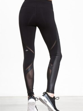 ALO Yoga Sexy Epic Leggings Sexy Pilates Leggings Black