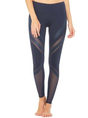 ALO Yoga Sexy Epic Yoga Leggings Sexy Pilates Leggings Navy