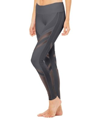 ALO Yoga Sexy Epic Leggings Sexy Pilates Leggings Slate