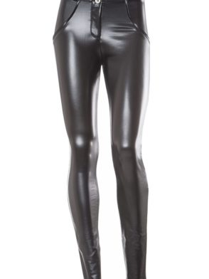 FREDDY WR.UP SHAPING EFFECT - REGULAR WAIST - SKINNY - FAUX LEATHER