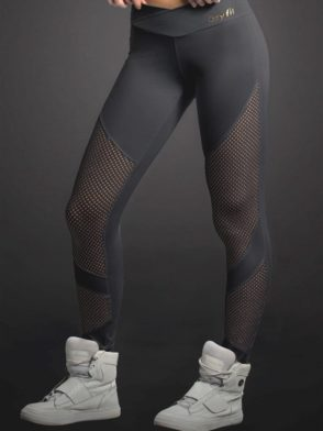 OXYFIT Leggings Looped 64053 BK- Sexy Workout Leggings