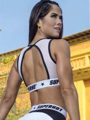 SUPERHOT Bra Top991 - Sexy Workout Tops Cute Yoga Sport Bra