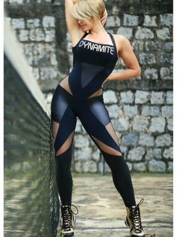 DYNAMITE Jumpsuit ML2012 Fusion BK-Sexy One-Piece Romper