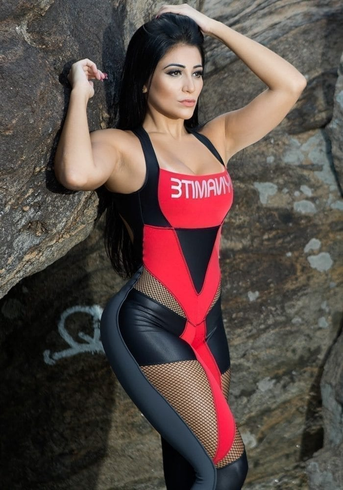 DYNAMITE Brazil Jumpsuit ML2012 Black Widow-Sexy One-Piece Romper