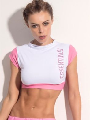 SUPERHOT Crop Top BL1049 Sexy Workout Tops Yoga Tops