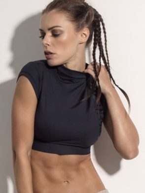 SUPERHOT Crop Top BL1053 Sexy Workout Tops Yoga Tops