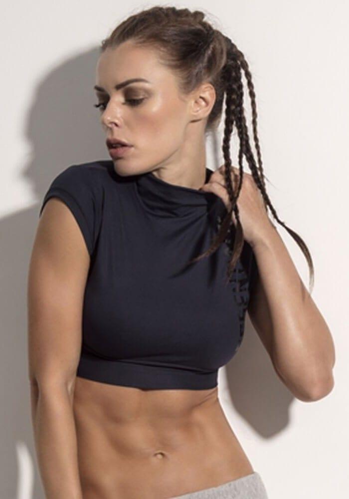 SUPERHOT Crop Top BL1053 Sexy Workout Tops Yoga Tops