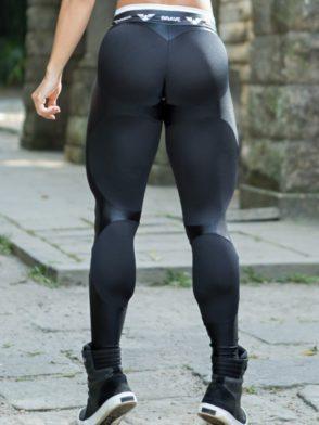 DYNAMITE Brazil Leggings L2094 APPLE BLACK BOOTY Sexy Workout Leggings