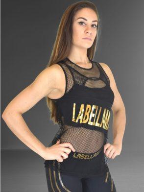 LABELLAMAFIA Tank Top FBL11843 Golden Lights Jump Shirt