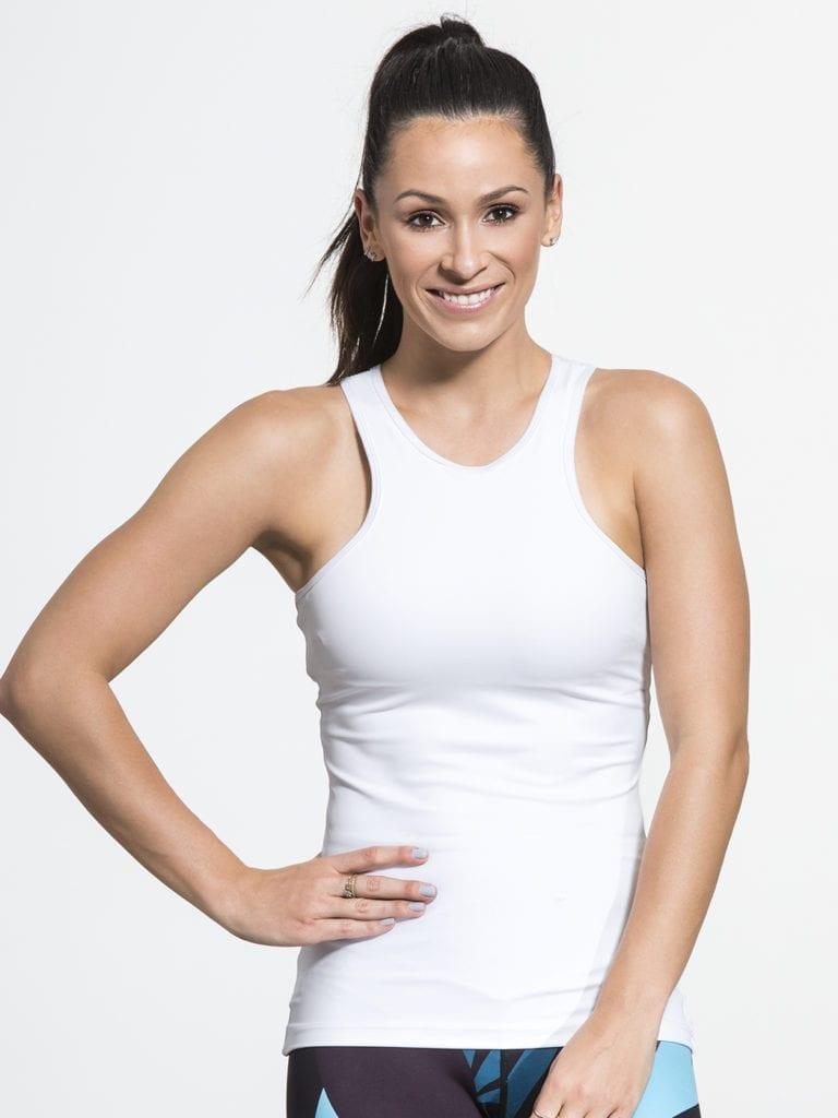 L'URV Break of Day Cami Top Sexy Workout Top