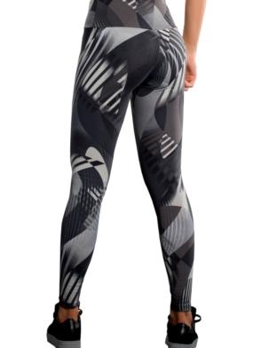 OXYFIT Leggings Athleisure 64055 Graphite- Sexy Workout Leggings