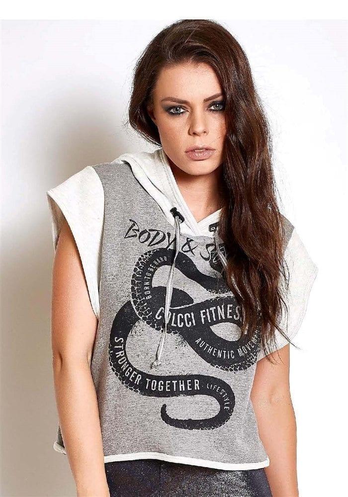 COLCCI FITNESS Sweat-Shirt Hoody 365700098 Body and Soul Crop Jersey