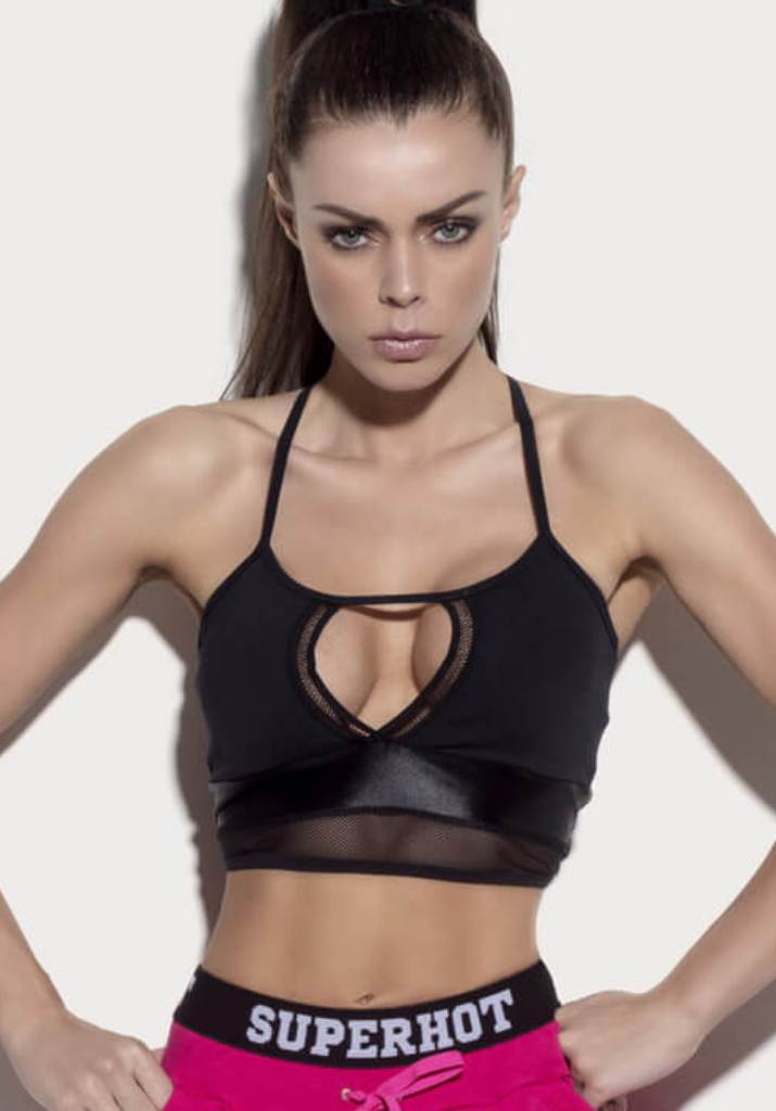 SUPERHOT Sports Bra TOP1124 Cute Yoga Sport Bra