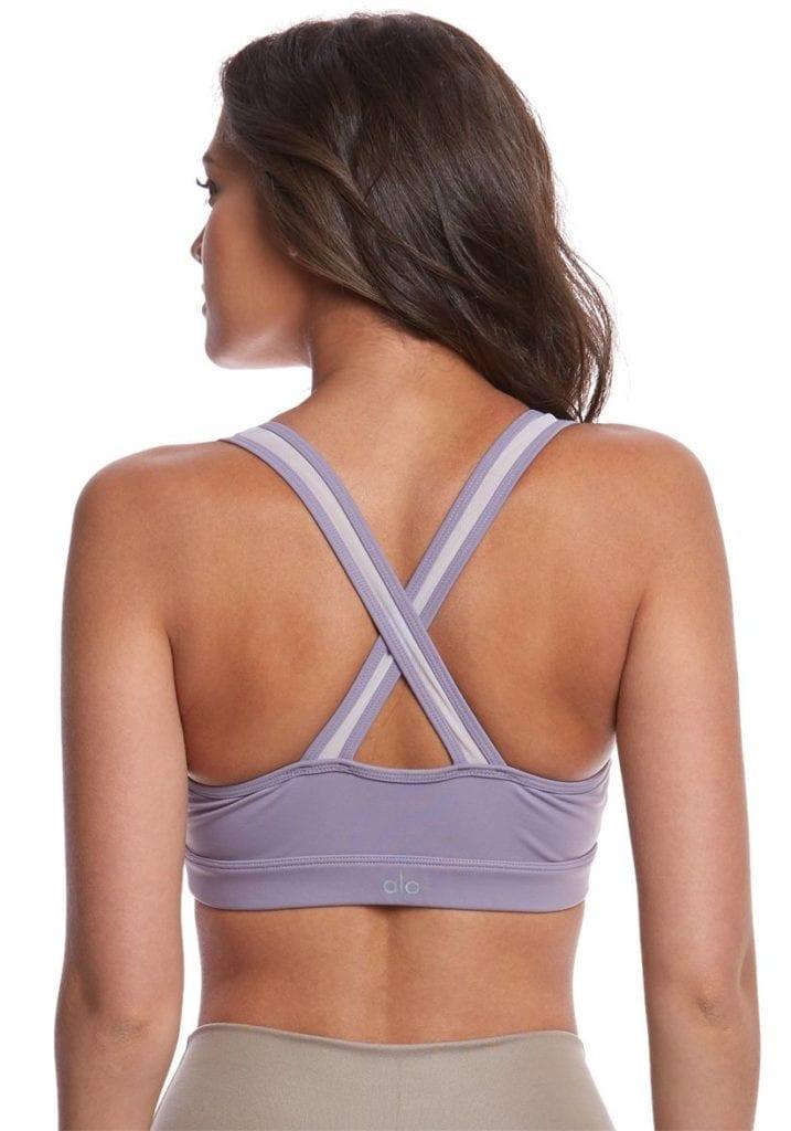 ALO Yoga Bra Entice Bra -Sexy Workout Bra Tops Twilight