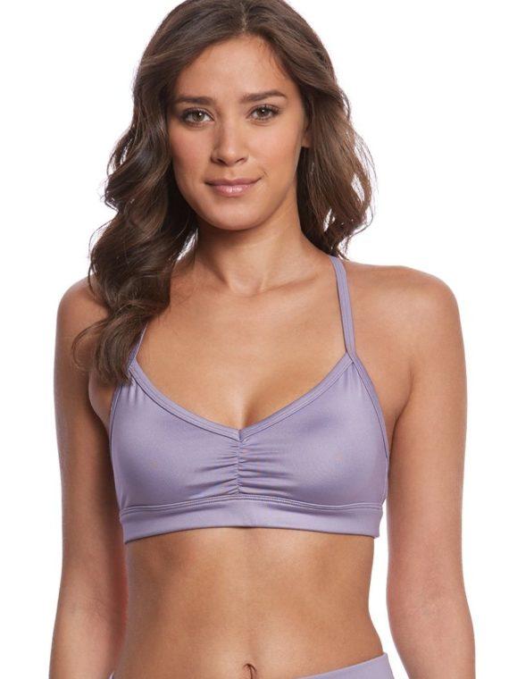 ALO Yoga Bra Sunny Strappy Bra -Sexy Workout Bra Tops Twilight