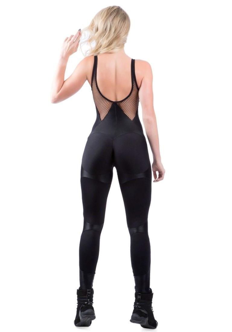 ff8943f57062a ... DYNAMITE Jumpsuit ML2094 Black Apple Booty-Sexy One-Piece Romper ...