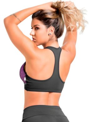 OXYFIT Bra Top Turn-Up 27073 Pink - Sexy Sports Bras