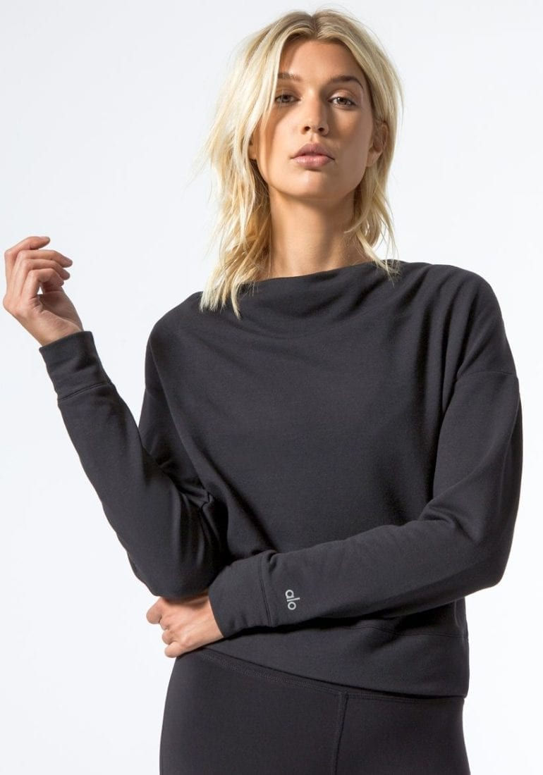 746286877f ... Sexy Yoga Tops BK 3-alo-uplift-long-sleeve-top-outerwear-black 11 ...