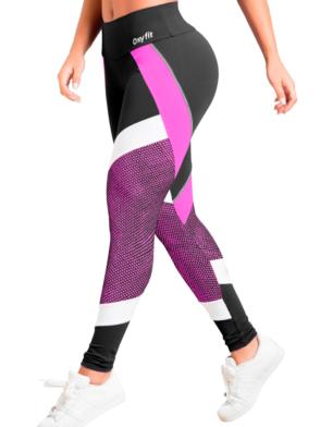OXYFIT Leggings Turn-Up 64043 Hot Pink – Sexy Workout Leggings