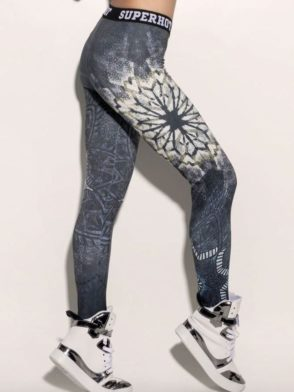 SUPERHOT Leggings CAL1301 Mandalas Sexy Workout Leggings