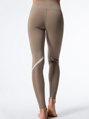 ALO Yoga Elevate Leggings Sexy Yoga Pants - Gravel
