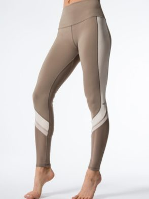 ALO Yoga Elevate Leggings Sexy Yoga Pants – Gravel
