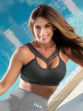 OXYFIT Bra Top Lily 27121 – Sexy Workout Bra – Cute Yoga Top