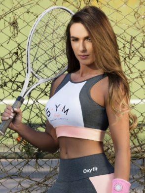 OXYFIT Bra Top Rose 27123 – Sexy Workout Bra – Cute Yoga Top