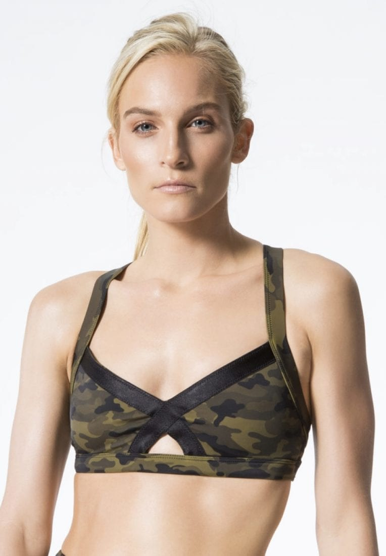 L'URV Sports Bra Lovers Army Bralette