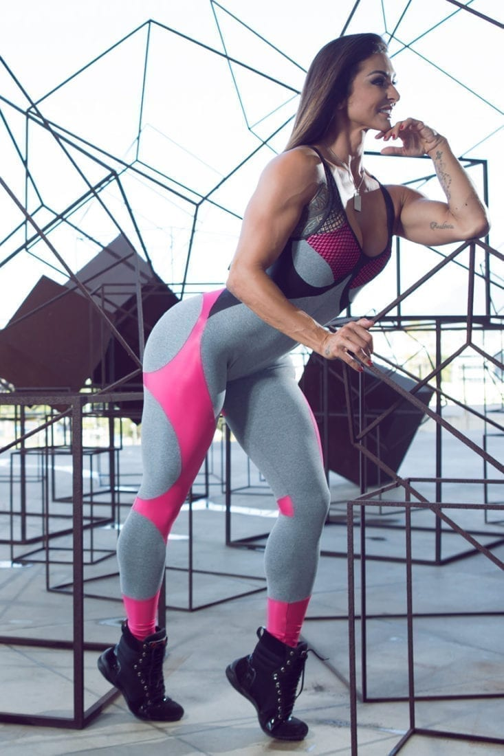 Dynamite Jumpsuit - Apple Booty Blend Pink - One Piece