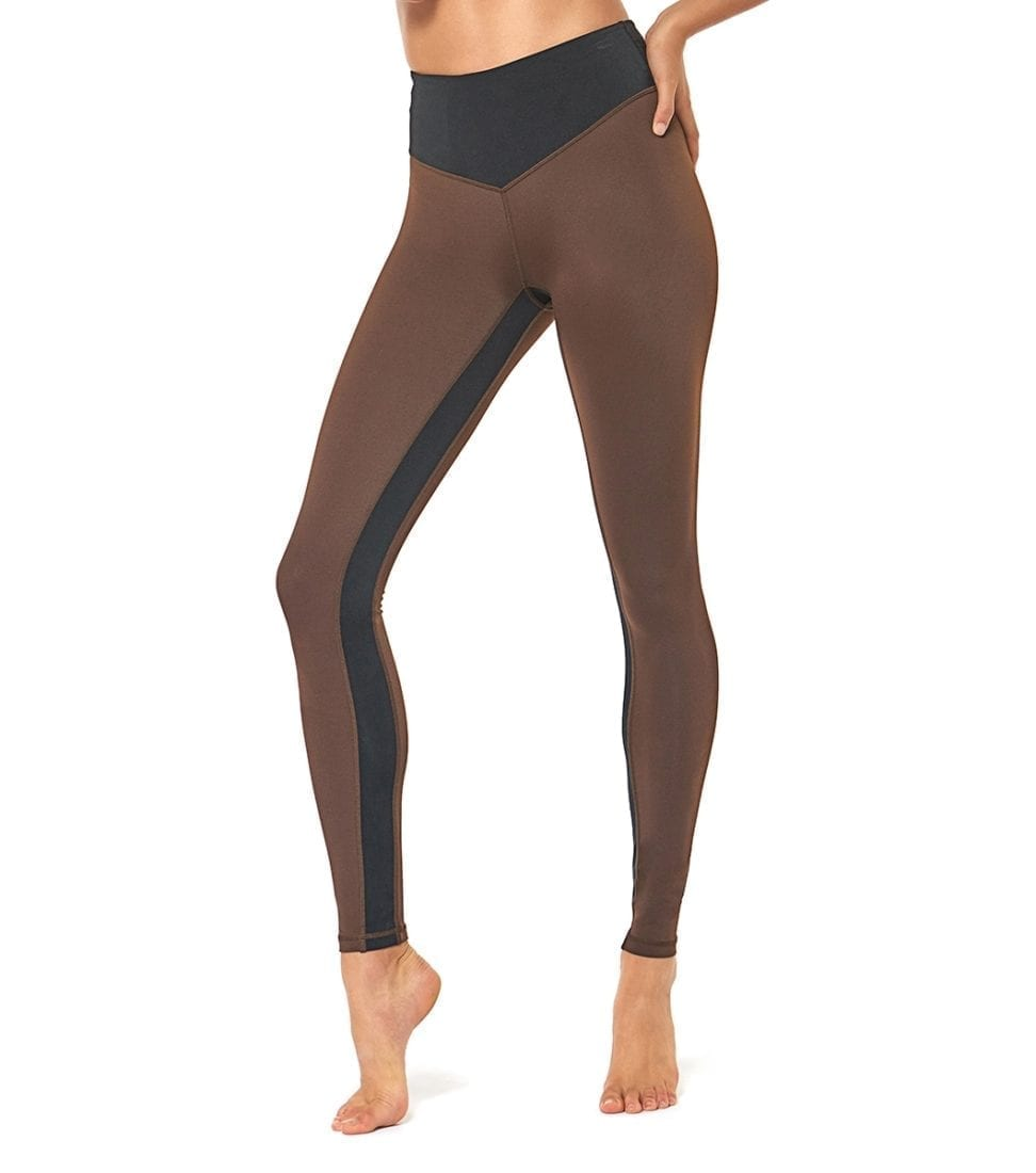 L'URV Leggings GAME ON LEGGING Chocolate Sexy Workout Tights