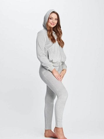 FREDDY WR.UP Chenille Tracksuit with with a hood S9WTRK6-Gray