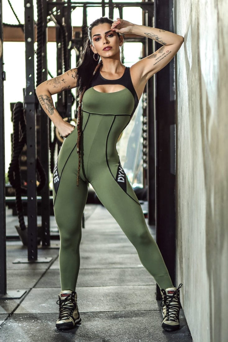 DYNAMITE Jumpsuit ML2018 Fitness Myriad- One-Piece
