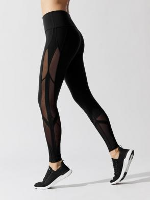 ALO Yoga High Waist Mosaic Legging – Black