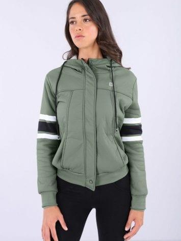 FREDDY WR.UP Full Zip Hoody Jacket – F9WTWS2 – Green